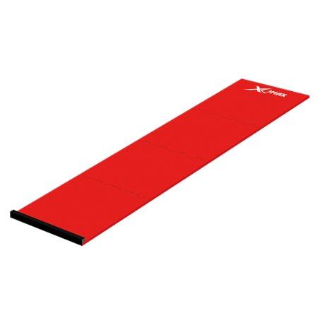 XQMax Darts Dart Mat Puzzle - Koberec k terči - 4 díly - red