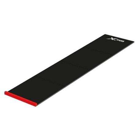 XQMax Darts Dart Mat Puzzle - Koberec k terči - 4 díly - black