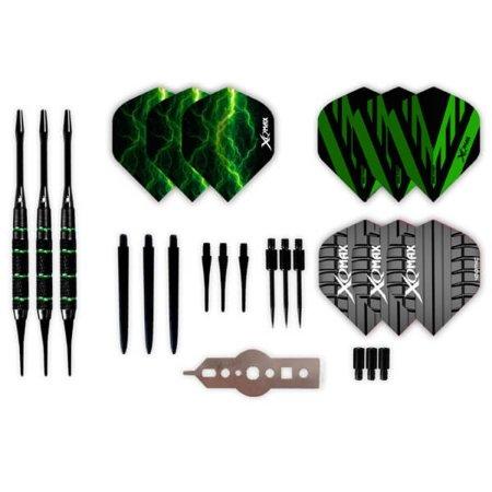 XQMax Darts Dárkový set - Giftset soft brass