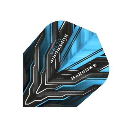 Harrows Letky Supergrip Ultra No6 - Aqua Blue F3176