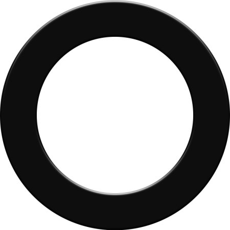 Designa Surround - kruh kolem terče - Black