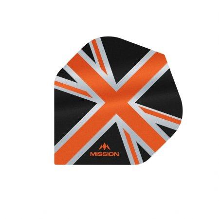 Mission Letky Alliance Union Jack - Black / Orange F3084