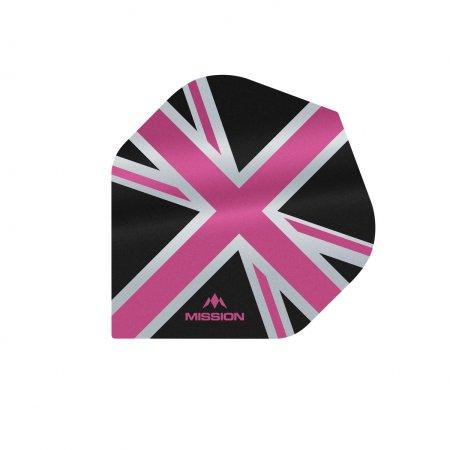 Mission Letky Alliance Union Jack - Black / Pink F3086