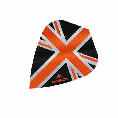Mission Letky Alliance Union Jack - Black / Orange F3092