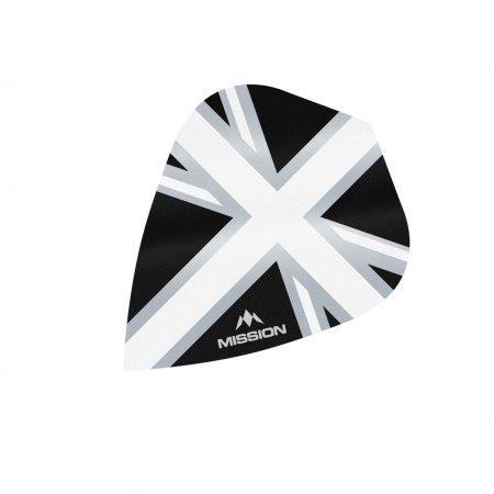 Mission Letky Alliance Union Jack - Black / White F3096