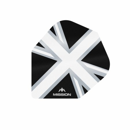Mission Letky Alliance Union Jack No6 - Black / White F3104