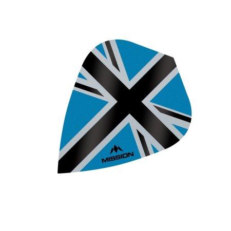 Mission Letky Alliance-X Union Jack - Blue / Black F3112