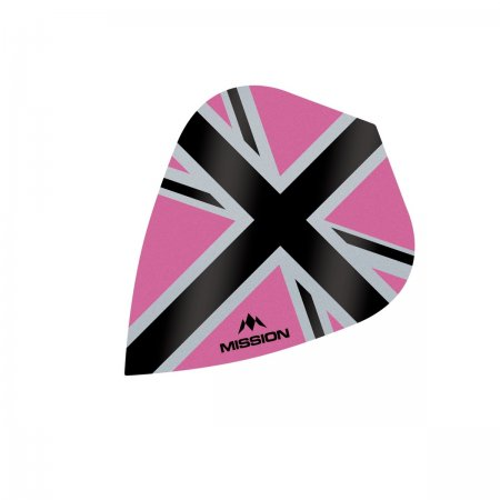 Mission Letky Alliance-X Union Jack - Pink / Black F3117