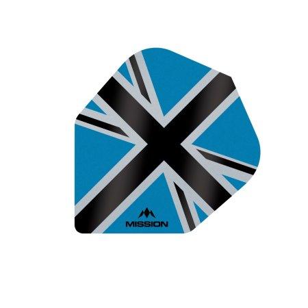 Mission Letky Alliance-X Union Jack No6 - Blue / Black F3119