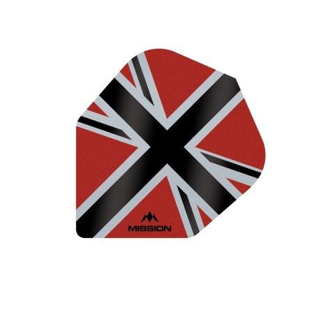 Mission Letky Alliance-X Union Jack No6 - Red / Black F3120
