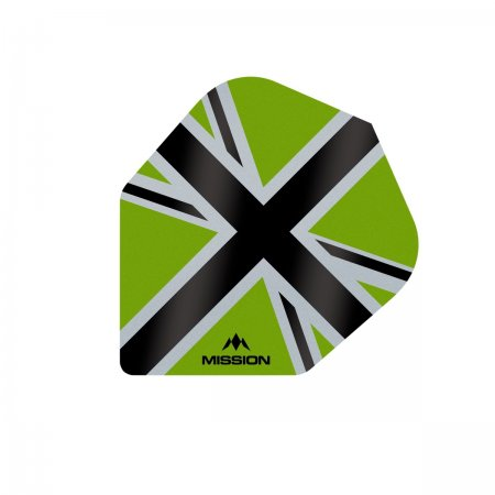 Mission Letky Alliance-X Union Jack No6 - Green / Black F3121