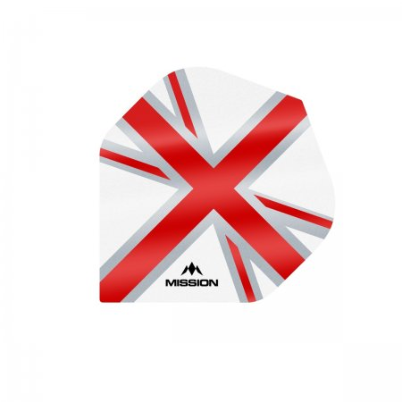 Mission Letky Alliance Union Jack - White / Red F3127
