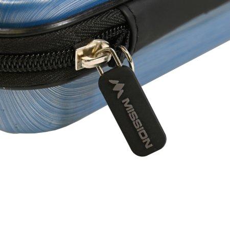 Mission Pouzdro na šipky ABS-1 - Metallic Aqua Blue
