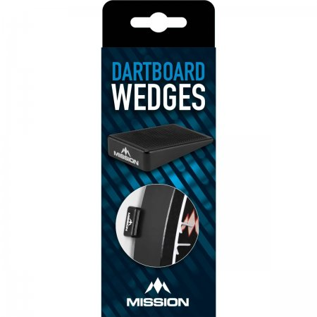 Mission Dartboard Wedges - klínek pro upevnění terče - 8 ks