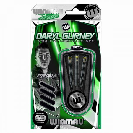 Winmau Šipky Daryl Gurney - Black Edition - 22g