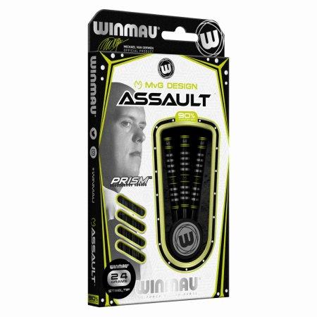 Winmau Šipky Steel Michael van Gerwen - Assault - 24g
