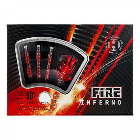 Harrows Šipky Steel Fire Inferno - 26g