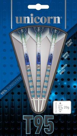 Unicorn Šipky Steel T95 Core XL - Blue - Style 1 - 22g